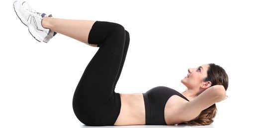 Crunches là bài tập gập bụng giảm mỡ hiệu quả nhất