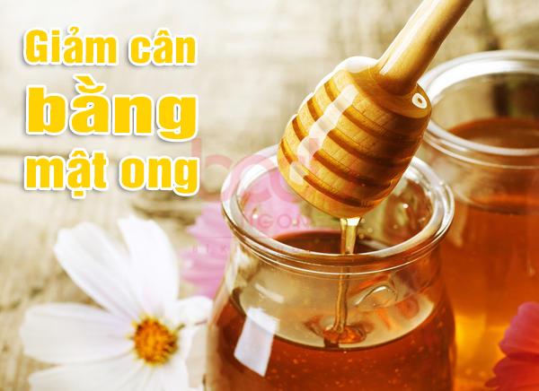 giảm cân bằng mật ong cực kỳ hiệu quả