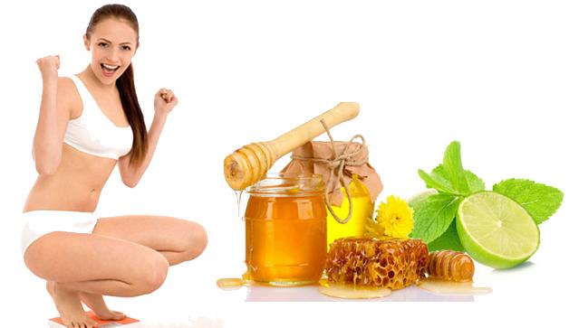 mật ong kết hợp chanh là liệu pháp giảm béo hiệu quả