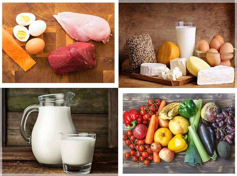các loại thực phẩm để tăng cân