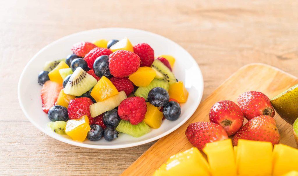 trái cây chứa nhiều đường không tốt cho giảm cân