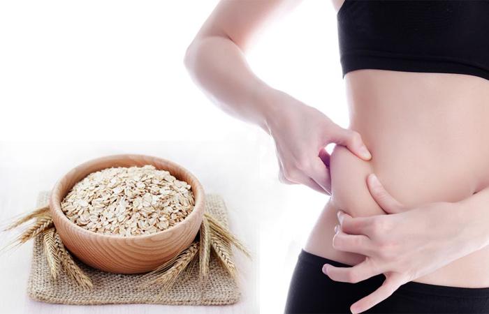 giảm béo hiệu quả bằng bột yến mạch