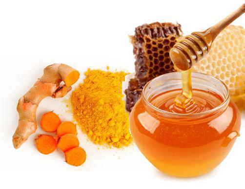 giảm béo bằng tinh bột nghệ và mật ong