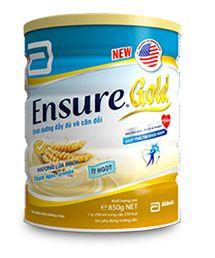 Ensure Gold hương lúa mạch ít ngọt