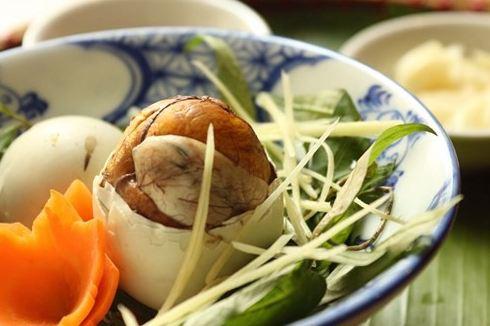 tăng cân bằng trứng vịt lộn có hiệu quả ?