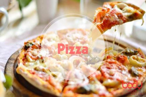 bánh pizza quá béo ngậy