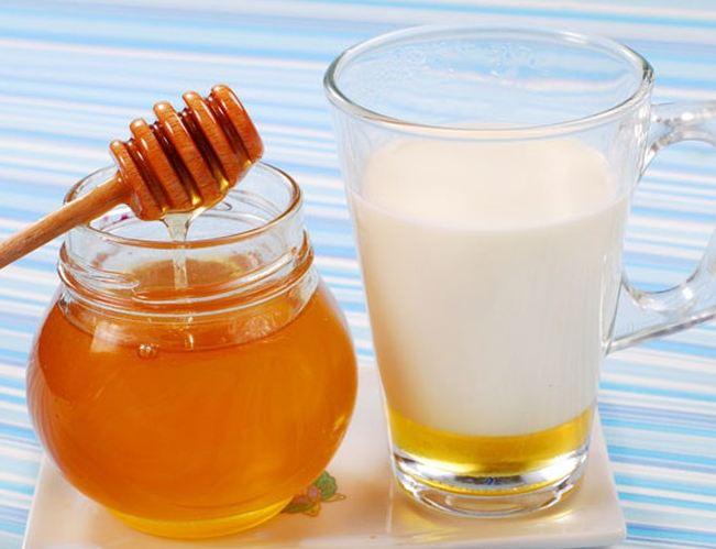 mật ong sữa tươi uống cải thiện cân nặng
