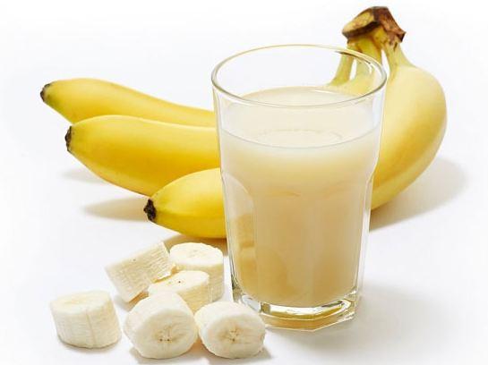 sinh tố chuối sữa mật ong