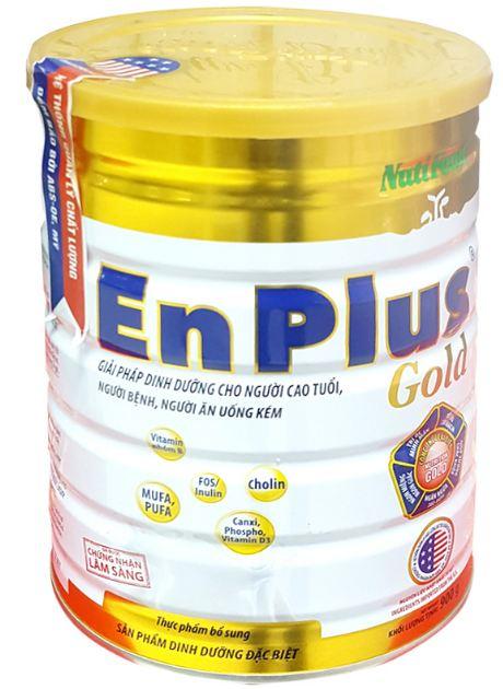 Sữa bổ sung dinh dưỡng cho người lớn Nuti Enplus Gold