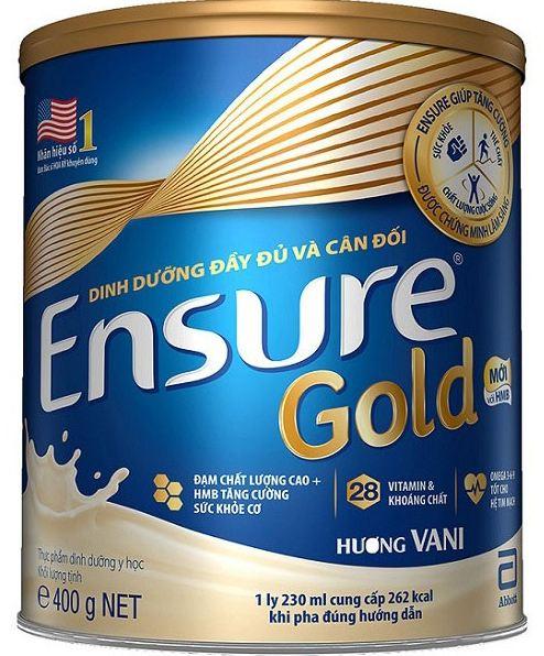 Sữa Bột Abbott Ensure Gold