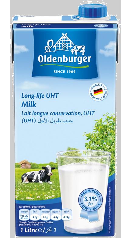 Sữa Tươi Tiệt Trùng Oldenburger