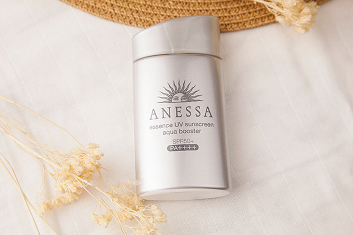 review kem chống nắng Anessa Essence UV Sunscreen Aqua Booster SPF 50+ PA++++
