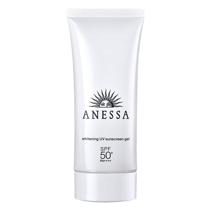 Review kem chống nắng Anessa Whitening UV Sunscreen Gel SPF 50+ PA++++