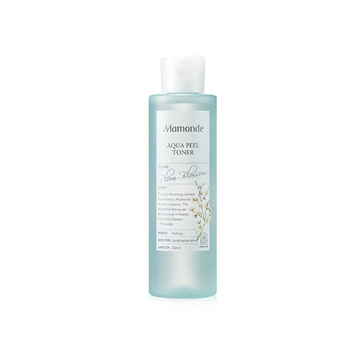 Review toner Mamonde Aqua Peeling (hoa mận)