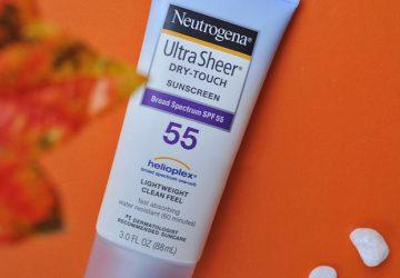 Review kem chống nắng Neutrogena SPF 55